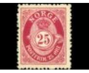 1909/24 Postfrisk og Stemplet