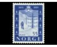 1950/54 Postfrisk og Stemplet