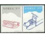 1993/94 Postfrisk og Stemplet
