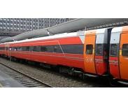 B7-vogner Rød/sølv/grå