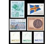 Åland Stemplet Del 1 AFA 1 - 27