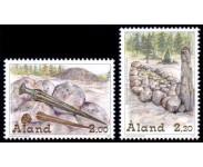 Åland Stemplet Del 6 AFA 143 - 167
