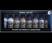 8 Colour set