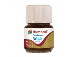 humbrol-av0205-enamel-wash-dark-brown-28ml-enamel-