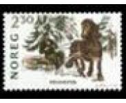 1987 Postfrisk og Stemplet