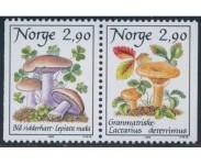 1988 Postfrisk og Stemplet
