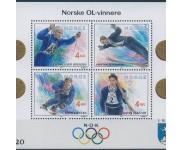 1992 Postfrisk og Stemplet