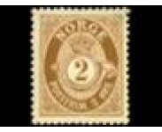 1909/19 Postfrisk og Stemplet