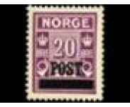 1929/32 Postfrisk og Stemplet