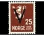 1941 Postfrisk og Stemplet