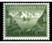1941/44 Postfrisk og Stemplet