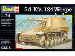 revell-1-76-03215-wwii-german-sdkfz-124-wespe-spg-