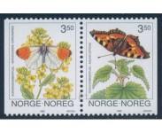 1993 Postfrisk og Stemplet