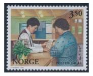 1996 Postfrisk og Stemplet