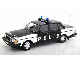 Minichamps-1986-Volvo-240-GL-Police-Sweden-1-18
