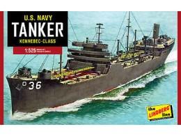 Lindberg-1520-US-Navy-Tanker-Plastic-Model-Kit