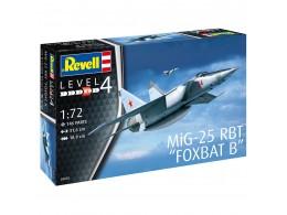 revell-mig-25-rbt-foxbat-b-level-4-scale-172