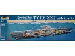REVELL-05078-1-144-Scale-Deutsches-U-Boot-German-S