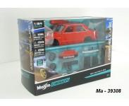 Byggesett i Metall og plast : Biler / Motorsykler